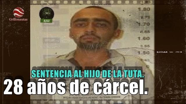 Dictan sentencia de 28 años a Servando Gómez Patiño, hijo de La Tuta.