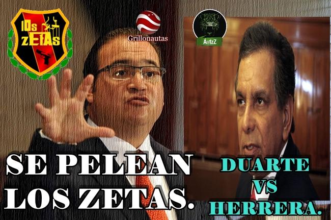 Pelea entre Jefes de Plaza: Fidel Herrera, el Zeta y Javier Duarte, el otro Zeta.