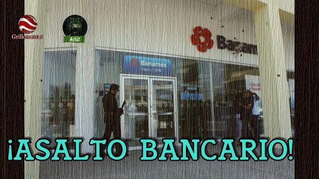 Toman como rehén a una niña en asalto a banco en Tonalá, Jal.