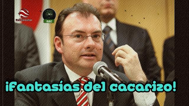 Dice el cacarizo Videgaray que el consumo crece en México, de manera 'robusta'.