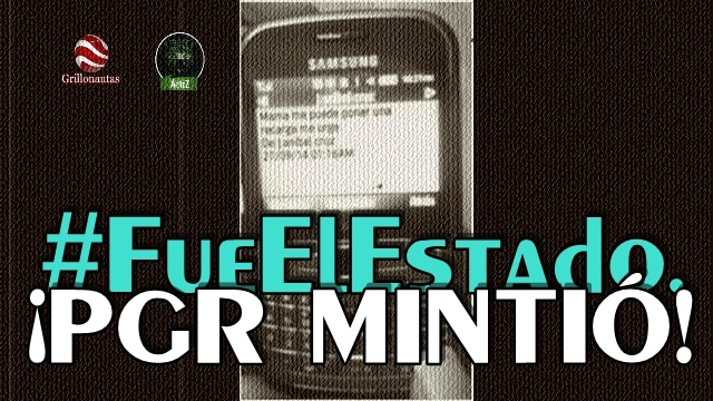 #Ayotzinapa. El quinto autobús y un SMS; dos lozas sobre la PGR y EPN.