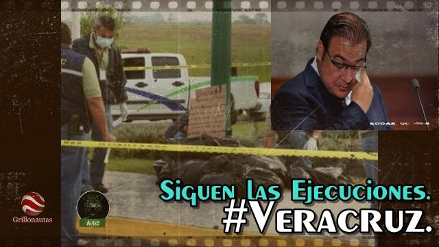 Diez ejecutados ayer en Veracruz.