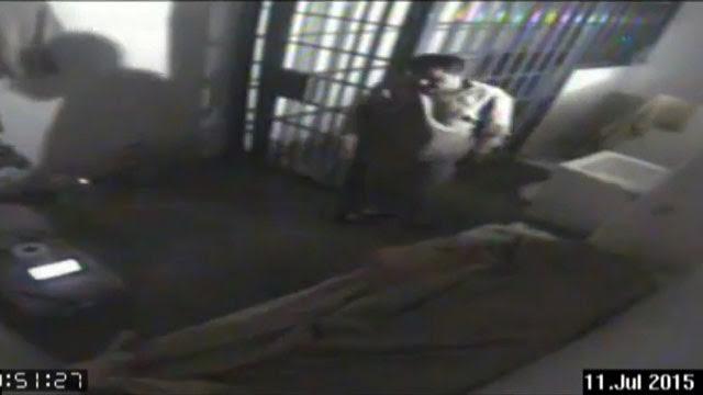 El audio y video de la 'fuga' del Chapo.
