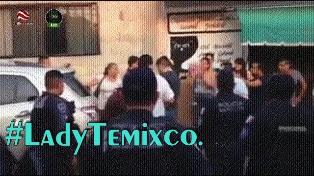 #LadyTemixco. Alcaldesa electa de Temixco, borracha y conduciendo provoca accidente.
