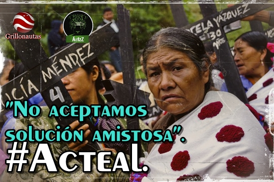 Sobre audiencia en la CIDH, Acteal dice