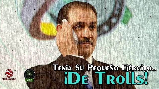 El ex Jefe de Plaza, Guillermo Padrés, gastó casi 50 mdp en 'trolls' aplaudidores y agresivos.