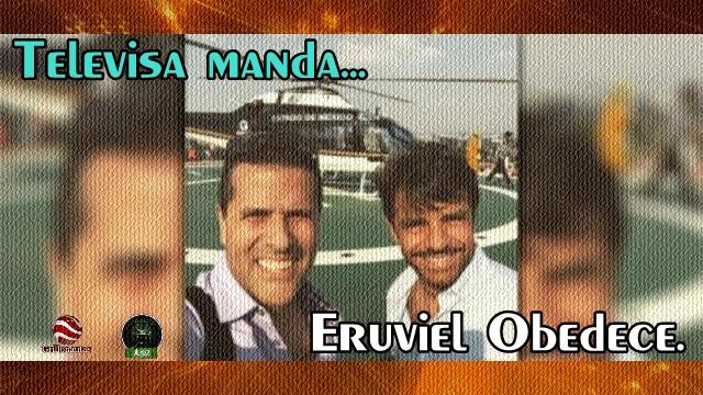 El Jefe de Plaza del EdoMex vuelve a prestar un helicóptero a #NarcoTelevisa.