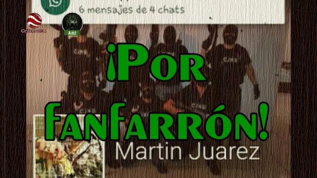 Se hacía pasar por miembro del CJNG en Facebook, lo detienen en Jalisco.