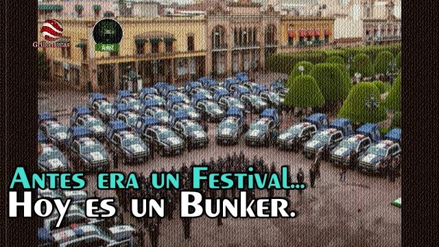 Blindan con fuerzas Federales el Festival Internacional Cervantino en Guanajuato.
