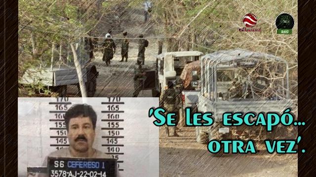 EEUU localizó a 'El Chapo' en la Sierra de Durango y Sinaloa. La Marina provoca terror en la zona.