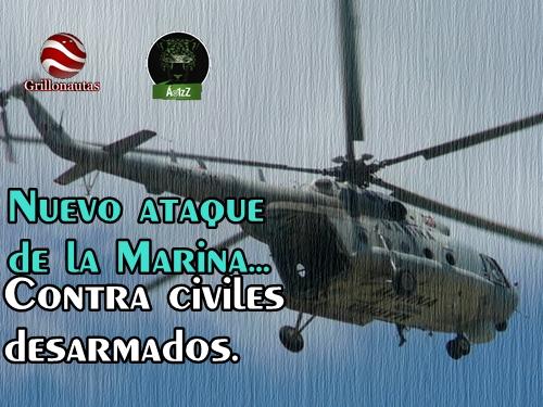 Incursiona la Marina a poblado en Durango y dispara a civiles.