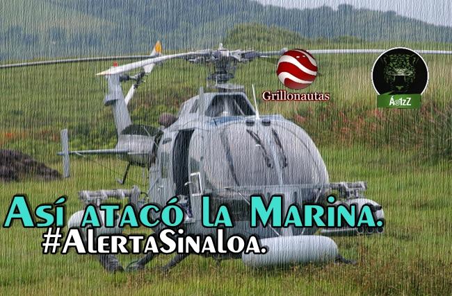 Así se vivió el ataque de la Marina en la sierra de Cosalá. (Testimonios).