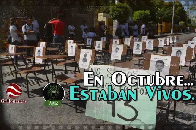 #Ayotzinapa. 11 días después del 26, los normalistas estaban vivos.