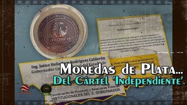Se regalan monedas conmemorativas del Bronco entre 'compis' del gobierno en Nuevo León.