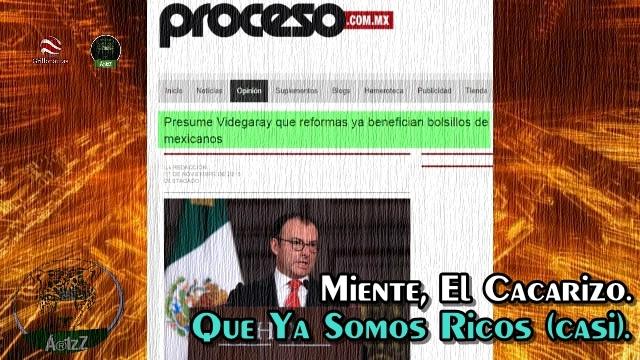 Dice 'el cacarizo Videgaray' que ya nos alcanza para comprar más, gracias a las reformas.