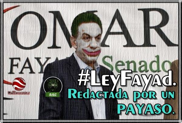 La #LeyFayadApesta. El 'cara de caballo' nos quiere fuera de las redes.