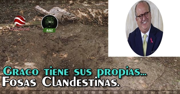 El narco gobierno en Morelos tiene sus propias fosas clandestinas.