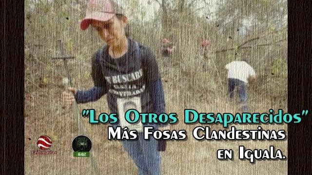 Encuentran seis fosas clandestinas más en Iguala.
