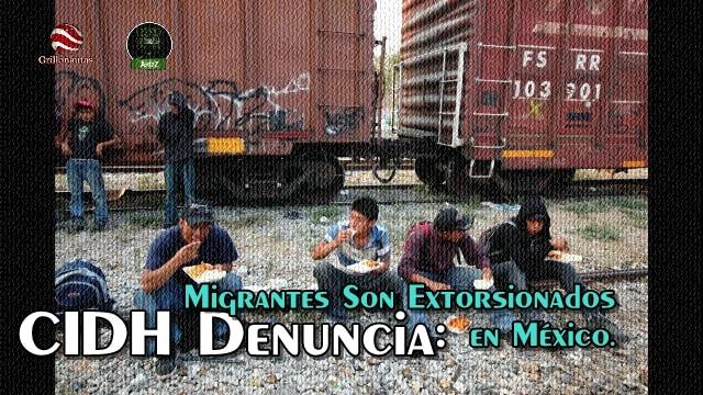 Migrantes centromaericanos pagan 'seguro' a polleros, para no ser secuestrados.