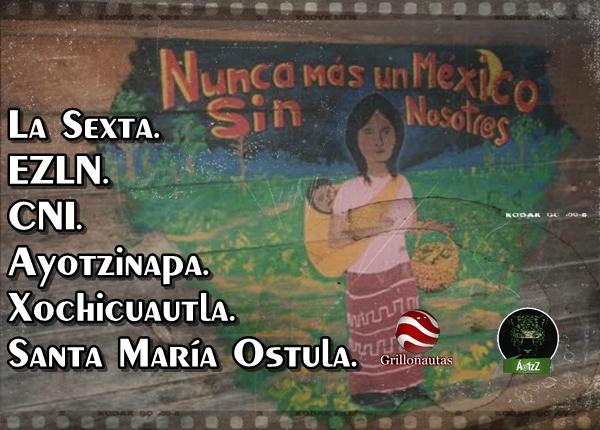 Xochicuautla, CNI, EZLN, Ayotzinapa, Santa María Ostula: ¡Libertad a Cemeí Verdía!