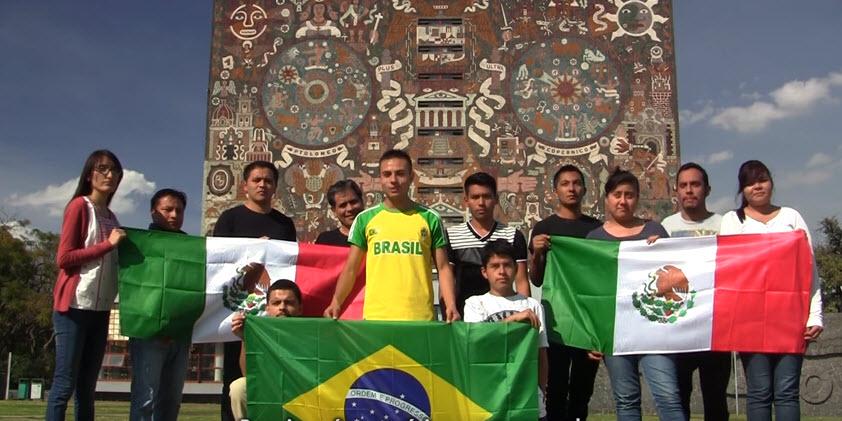 Solidariedade do México com secundaristas-Solidaridad desde México.