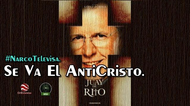 Se va López Dóriga de #NarcoTelevisa.