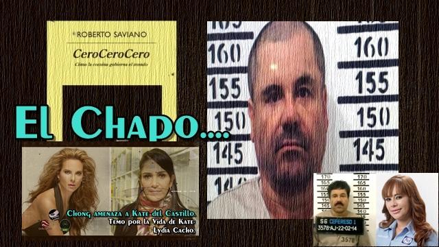 Lydia Cacho defiende a Kate. La Diputada declara en SEIDO. Capítulo nuevo de la Telenovela del Chapo.