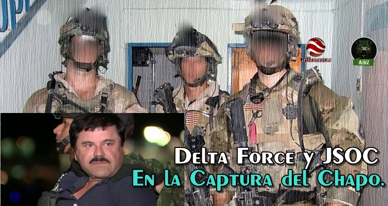 Comando que mató a Bin Laden, participó en captura del Chapo: SOFREP.