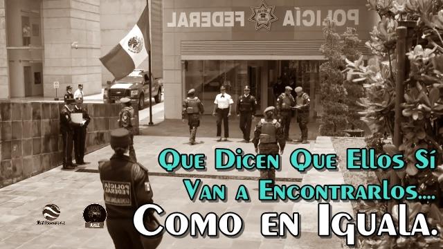 Gendarmería llega a Tierra Blanca a buscar a jóvenes desaparecidos. ¡Como en Iguala!