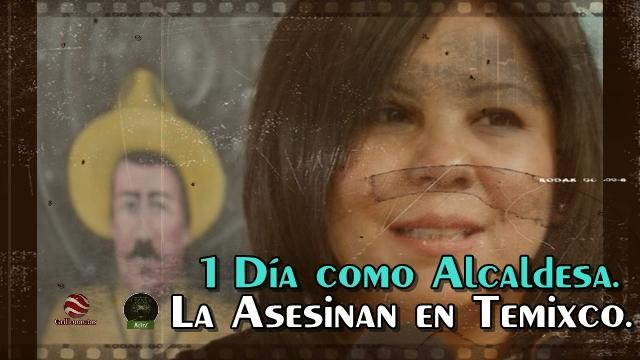 Comando armado asesina a alcaldesa de Temixco, Morelos, Gisela Mota.