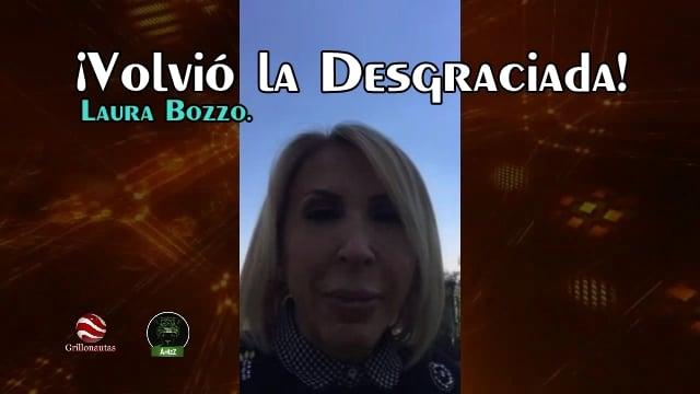Laura Bozzo amenazó con regresar y lo cumplió; regresa.