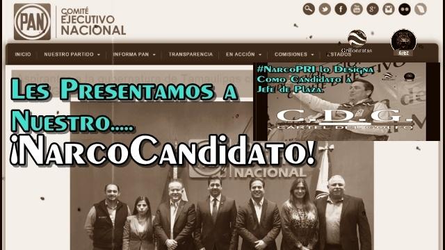 Les presentamos a los 'narco candidatos' del PRI y el PAN para la Jefatura de Plaza en Tamaulipas.