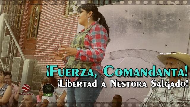 Nestora Salgado fue acusada con pruebas falsas: Front Line Defenders.