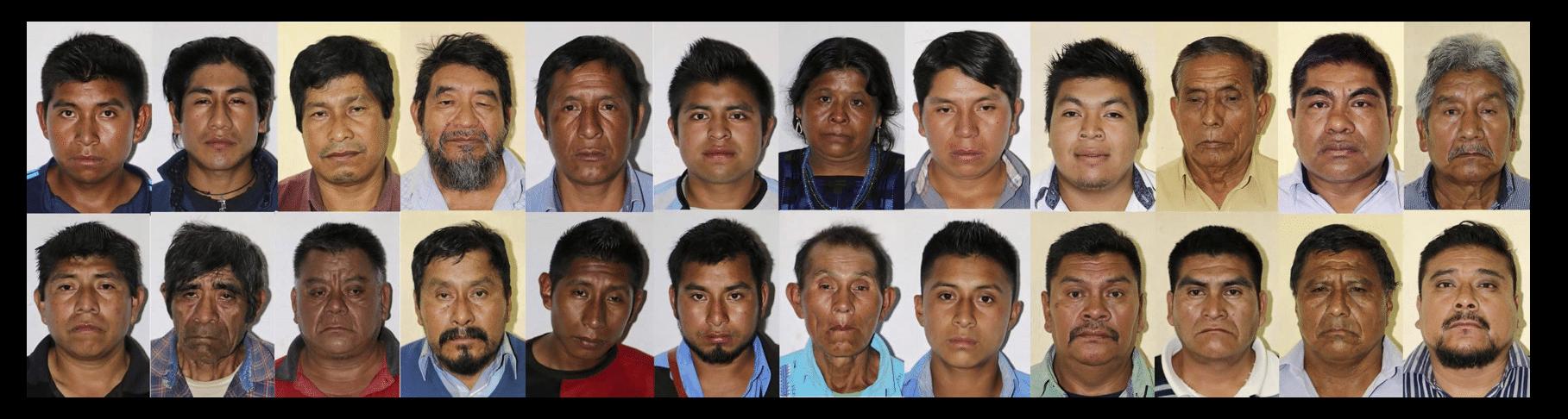 Detienen a 30 líderes indígenas tzeltales en Chiapas