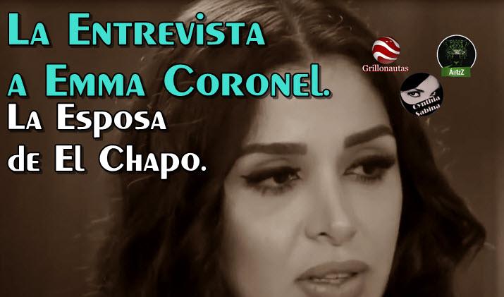 Emma Coronel, esposa de El Chapo, rompe el silencio Escribe carta y da entrevista.