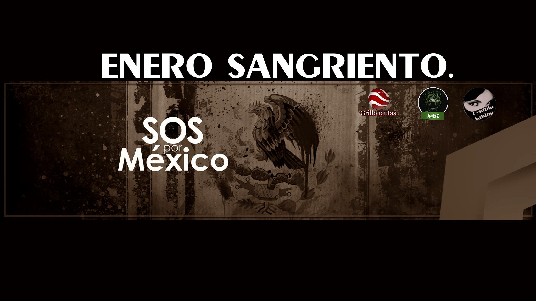 Enero sangriento. Ahora las víctimas, también son niños. #SOSporMéxico.