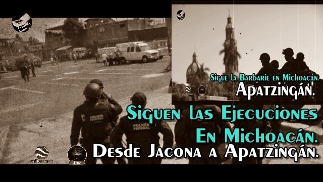 Decapitados, ejecutados, balaceras; así es el día a día en Michoacán.