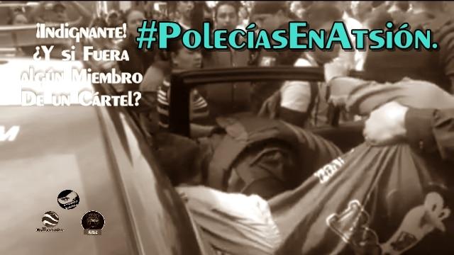 #PolecíasEnAtsión. ¡Detenido por vender 'bolis' en Guadalajara!