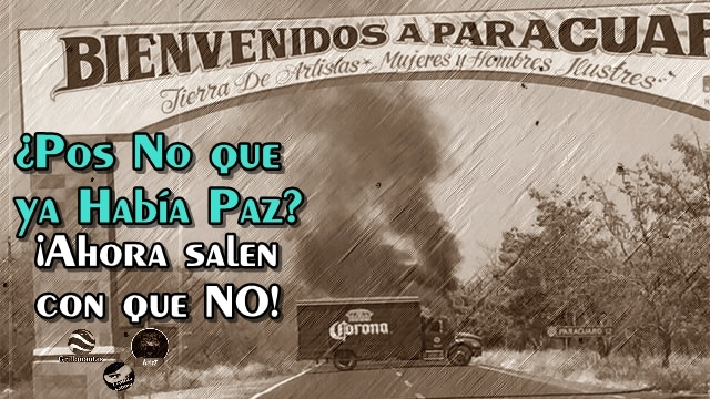 Silvano Aureoles reconoce que sí, que siempre sí hay cárteles aun en Michoacán.