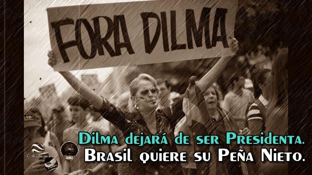 Destituirán a Dilma Rousseff. Brasil se saca el dedo de la nariz y se lo lleva a la boca.