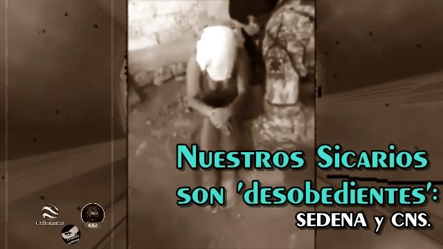 No es tortura; es 'maltrato' y 'desobediencia': SEDENA y CNS.