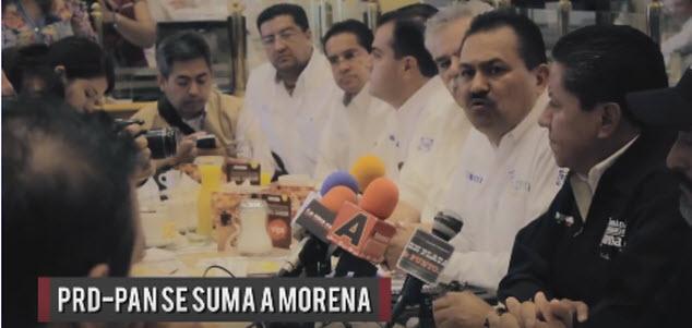 Morena se une a 'La Mafia del Poder' en Zacatecas. ¿Compló?