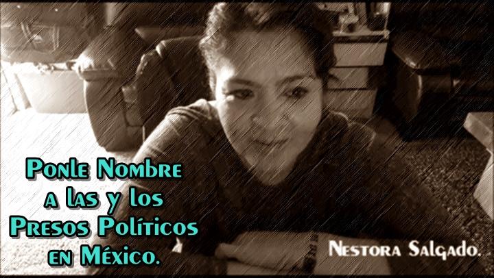 Inicia Nestora Salgado campaña en España por la libertad de presos políticos en México.