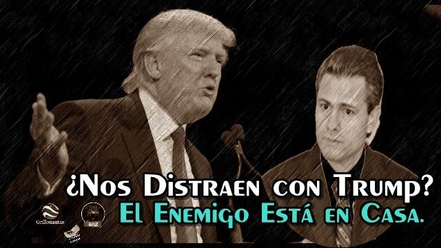 ¿Es Donald Trump el chivo expiatorio perfecto que usa el gobierno mexicano?