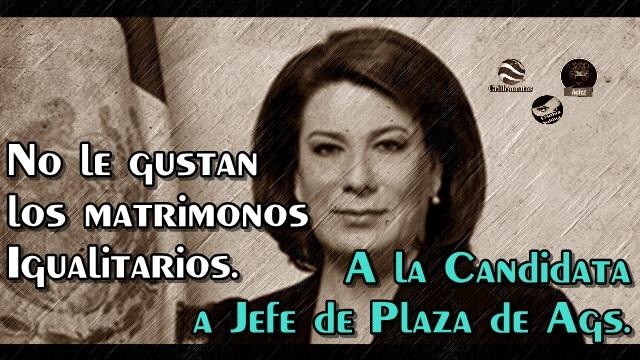 Lorena Martínez, del #NarcoPRI, se opone a los matrimonios igualitarios.