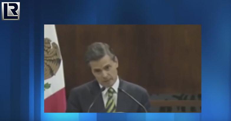La amenaza de Peña Nieto y el fantasma del 68. Texto y video de Rubén Luengas.