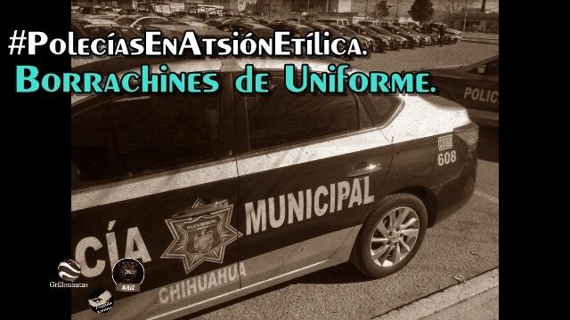 #PolecíasEnAtsión etílica en Aquiles Serdán, arman borrachera y terminan matando a uno de ellos.