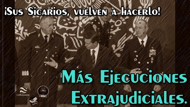 Un caso más de ejecuciones extrajudiciales de los sicarios de la Sedena en Jalisco