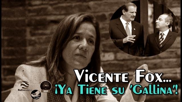 Fox ya ve como candidata a Margarita Zavala y a San Peje no le da ni esperanzas.