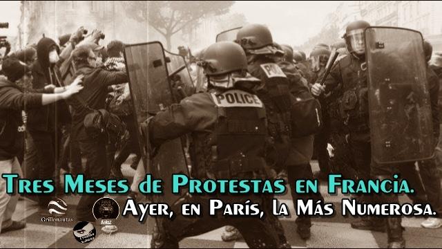 En plena Eurocopa, no paran las protestas laborales en París.